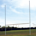 Classic Galvanized Steel Goal Posts - Set of 2 [STFBGPHS-FS-AC]