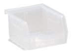 3''H x 4.125''W x 5''D Clear-View Ultra Stack and Hang Bins [QUS200CL-QSS]