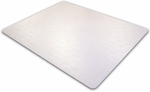 48''W x 79''L Cleartex Advantagemat Chairmat for Low Pile Carpets 1/4'' or less [1120025EV-FS-FTX]