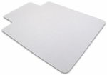 45''W x 53''L Cleartex Advantagemat Chairmat with Lip for Hard Floors And Carpet Tiles [12341520LV-FS-FTX]