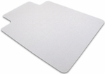 48''W x 60''L Cleartex Advantagemat Chairmat with Lip for Hard Floors And Carpet Tiles [1215020LV-FS-FTX]