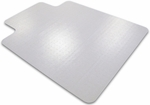 36''W x 48''L Cleartex Advantagemat Chairmat with Lip for Low Pile Carpets up to 1/4'' [119225LV-FS-FTX]