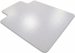 45''W x 53''L Cleartex Advantagemat Chairmat with Lip for Low Pile Carpets [11341525LV-FS-FTX]