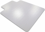 45''W x 53''L Cleartex Advantagemat Chairmat with Lip for Medium Pile Carpets 3/4'' or less [11341530LV-FS-FTX]