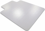 48''W x 60''L Cleartex Advantagemat Chairmat with Lip for Plush Pile Carpets [1115240LV-FS-FTX]