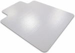 36''W x 48''L Cleartex Advantagemat Chairmat with Lip for Standard Pile Carpets up to 3/8'' [119226LV-FS-FTX]