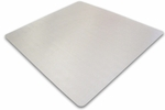48''W x 48''L Cleartex Ultimat Polycarbonate Square General Office Mat [1112123ER-FS-FTX]