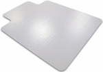 48''W x 53''L Cleartex Ultimat Lipped Chairmat for Low and Medium Pile Carpets [1113423LR-FS-FTX]