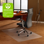 48''W x 53''L Cleartex Ultimat Office Mat for Hard Floors and Carpet Tiles [1213419ER-FS-FTX]