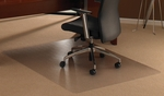 30''W x 47''L Cleartex Ultimat Polycarbonate Rectangular Chairmat for Low and Medium Pile Carpets up to .5'' [11197523ER-FS-FTX]