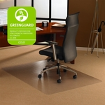 48''W x 60''L Cleartex Ultimat Polycarbonate Chairmat for Low to Medium Pile Carpets [1115223ER-FS-FTX]