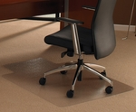 35''W x 47''L Cleartex Ultimat with Lip Office Mat for Plush Pile Carpets over .5'' [118927LR-FS-FTX]
