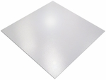 60''W x 60''L Square Cleartex Ultimat XXL Office Mat for Hard Floors and Low To Medium Pile Carpets [1215015019ER-FS-FTX]