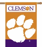 Clemson Tigers 2-Sided 28'' X 40'' Banner with Pole Sleeve [96225-FS-BSI]