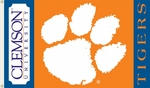 Clemson Tigers 3' X 5' Flag with Grommets [95025-FS-BSI]