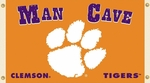 Clemson Tigers Man Cave 3' X 5' Flag with 4 Grommets [95625-FS-BSI]