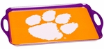 Clemson Tigers Melamine Serving Tray [38025-FS-BSI]
