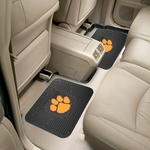 Clemson University Backseat Utility Mat 2 Pc 14'' x 17'' [12257-FS-FAN]