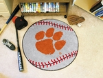 Clemson University Baseball Mat 27'' Diameter [3720-FS-FAN]