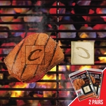 Cleveland Cavaliers Fan Brands 2 Pc 2'' x 2'' [13177-FS-FAN]