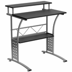 Clifton Black Computer Desk [NAN-CLIFTON-BK-GG]