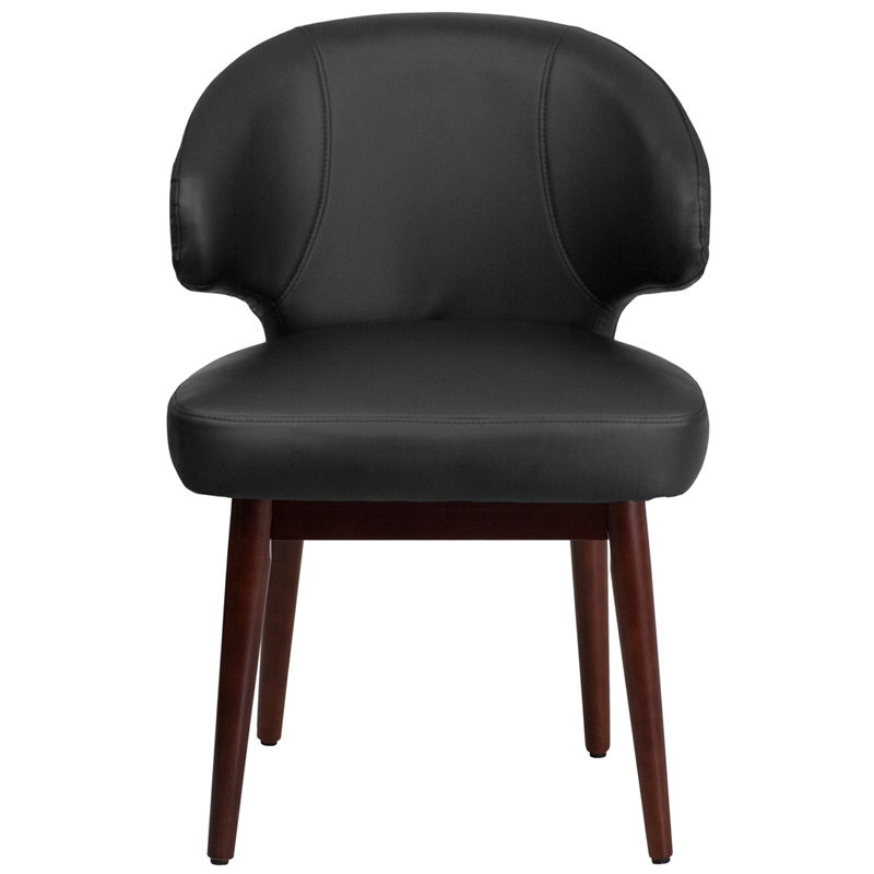 Leather Office Chair Leather Reception Chairs For Home Office Home
