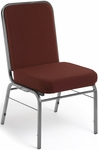 Comfort Class 300 lb. Capacity Stack Chair - Pinpoint Burgundy Fabric [300-SV-3165-MFO]
