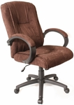 Microfiber Executive Chair - Brown [60-097111-FS-COM]