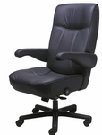 Commander Office Chair in Leathermate [OF-COMDR-LLM-FS-ARE]