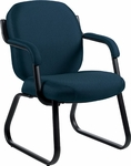 Commerce Cantilever Guest Chair with Arms - Grade 3 [4735-GR3-FS-GLO]