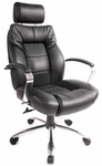 Commodore II Big & Tall Executive Chair - Black [60-5800T-FS-COM]