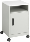 27.25'' H Compact Single Door Machine Stand - Gray [1871GR-FS-SAF]