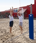 Match Point Competition Outdoor Volleyball System [SVB5000-BIS]