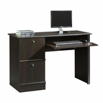 Wooden 46''W x 30'''H Computer Desk with Sliding Keyboard Shelf - Cinnamon Cherry [408995-FS-SRTA]