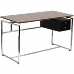 Computer Desk with Two Drawer Pedestal [NAN-JN-2120-GG]