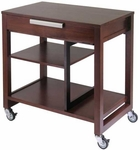 Computer Desk with Wheels [94032-FS-WWT]