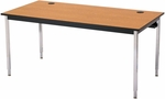 Adjustable or Fixed Height Computer Table - 48''W x 29''H [01551-SCI]
