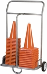 Cone Cart with 8'' Dia Rubber Wheels [CSCART-FS-CHS]