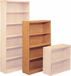 Congress Bookcase with Four Shelves [CO3660BC-FS-CMF]