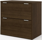 Contempo Lateral File with Scratch and Stain Resistant Finish - Tuxedo [50630-78-FS-BS]