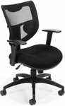 Parker Ridge Executive Mesh Chair - Black [581-BLACK-FS-MFO]
