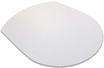 39''W x 49''L Ultimat Contoured Chair Mat for Hard Surface Floors [129919SR-FS-FTX]