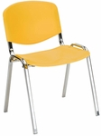 Active 21'' W x 23'' D x 30.25'' H Armless Stack Chair - Set of Four [SS-19350-EOF]