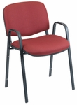 Active Plus 21'' W x 23'' D x 30.25'' H Stack Chair with Upholstered Seat and Back - Set of Four [SS-19452-EOF]