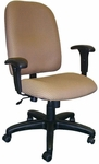 Palisades 24'' W x 22'' D x 39.5'' H Adjustable Height and Width High-Back Chair with Tilt Lock Control [E-50181-FS-EOF]