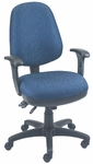 Workmate 24'' W x 23'' D x 38.75'' H Adjustable Height High-Back Chair with Medium Seat [SS-20681-FS-EOF]