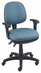 Workmate 22.5'' W x 19.75'' D x 33'' H Adjustable Height Mid-Back Chair with Medium Seat [SS-20651-FS-EOF]