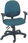 Contract Seating Stratus Small Back Chair with Deluxe Task Control [E-31722V-FS-EOF]