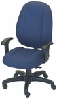 Stratus 24.5'' W x 22'' D x 44'' H Adjustable Height and Width High-Back Chair [E-31781V-FS-EOF]