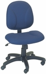 Stratus 24.5'' W x 22'' D x 37.25'' H Adjustable Height and Width Small Back Chair [E-31721V-FS-EOF]